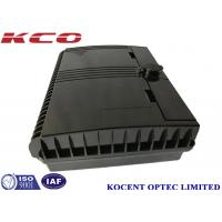 Buy cheap KCO-ODP-16B Fibre Optical Splitter Terminal Distriution Junction Box 1*16 Water-proof Black White ABS+PC from wholesalers