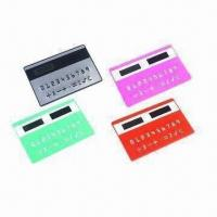 China Promotional Card Solar Calculator for Gifts wholesale