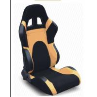 Modern Adjustable Custom Racing Seats With Rails And Logo , Easy To Install