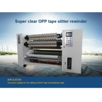 China Super Clear Bopp Tape Transparent Adhesive Tape Slitting Machine wholesale