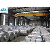 China EN 10327 Hot Dipped Aluzinc Steel Coil 0.25mm - 0.47mm Minium Spangle wholesale