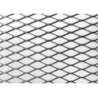 China 22 X 9 Mm Expanded Metal Plate , Opening Aluminum Galvanized Expanded Metal Screen on sale
