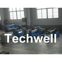 China Carbon steel, GI, Color Steel Simple Slitting Machine Line With Scrap Rewind Device wholesale