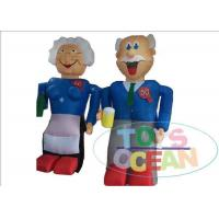 China Outside Party Advertising Inflatables Waterproof With Abraham / Sarah wholesale