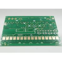 China Green Solder Mask Aluminum / FR4 PCB Fabrication Service with Gold Plating wholesale