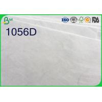 China White Color Tyvek Paper Roll , 1025D 1056D 1057D Tyvek Sheets For Printing wholesale