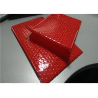 China Apparel Packing Red Bubble Mailer Bag 12.5 X 19 #6 Padded Poly Mailers Waterproof on sale
