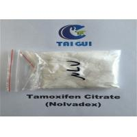 China Tamoxifen Citrate / Nolvadex Crystalline Raw Steroid Powders Semi - Finshed Injection 20mg/ml wholesale