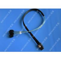 China SFF 8087 To 4 SATA Molex SAS Cable Pinout 2 Serial Attached SCSI SATA to HDD wholesale