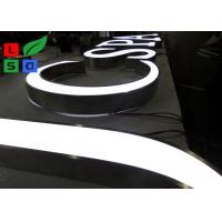 Quality Front Lit 3D Logo LED Shop Display LED Channel Letter Signs For Outdoor Shop for sale