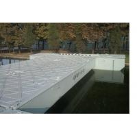 China Temporary Trestle Floating Pontoon Bridge With Anti-corrosion Coatings wholesale