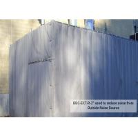 China Temporary Construction Noise Barriers sound muffing panels 20dB 30dB 40dB Noise Insulation wholesale
