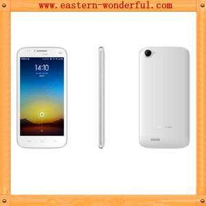 China Factory OEM 5.0'' Quad core dual sims cdma mobile phone with CDMA2000/EVDO800/GSM900/1800 on sale