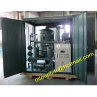 China Skid Mounted Double Stage Vacuum Transformer Oil Purifier Machine for Power Station,with cover enclosure wholesale