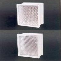 China Glass Blocks, Available in Various Styles and Designs, with Colored Acid Treatment Pattern wholesale