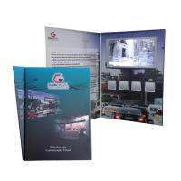 China High End LCD Gift Card Mailer LCD Screen Festival Video Player with magnetic switch wholesale