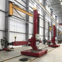 Quality Welding Center Automation Column And Boom Manipulators With Moving Trolley And for sale