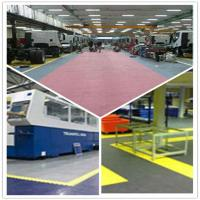 China PVC Outdoor Interlocking Plastic Floor Tiles For Workshop wholesale