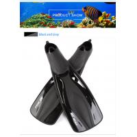 China Professional Travel Dive Fins With Extended Sole Plate , Contoured Foot Chamber wholesale
