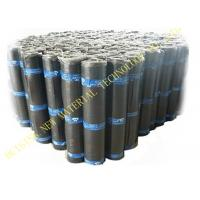 China Flat Self Adhesive Roofing Polyurethane PU Waterproof Membrane Material Black Color wholesale