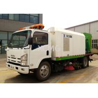 China Tunnel And Bridge Washing Road Sweeper Truck 8tons With Washer wholesale