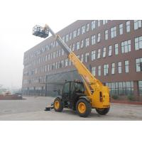 China Perkins Engine Rated Load 3.5 Ton Telescopic Handler Forklift Dustproof wholesale