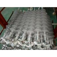 China 69KV/120kN Composite Silicone Insulator with Gray Sheds, Y-Clevis and Tongue wholesale