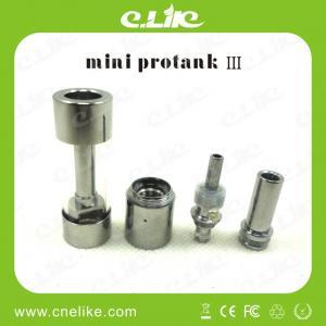 China CE RoHS Certificate Mini Protank 3 Dual Coil Huge Vapor wholesale
