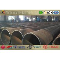 China 3 Polyethylene Q215 Spiral Welded Steel Pipe Steel Structure Anti-Corrosion wholesale