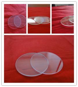 China Clear  quartz glass plates low MOQ on sale