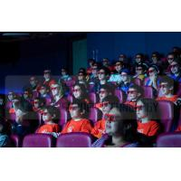 China Different Color Motion Chairs 4D Cinema Equipment With Electronic Hydraulic System wholesale