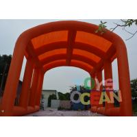 China Giant Custom Inflatable Tents , Inflatable Football Field Party Tent For Outdoor Sport Event wholesale