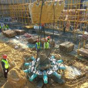 China hydraulic breaker price round hydraulic pile breaker for concrete piles 400-2500mm diameter wholesale