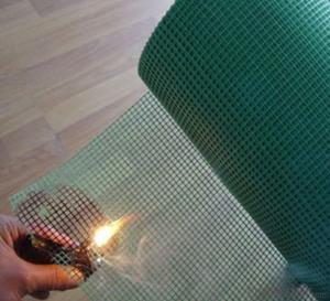 RoHs certification 18*16 Black color fiberglass mosquito fly screen net