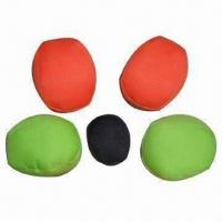 China Hacky Sack/Foot Bag/Bean Bag/Juggling Ball, Material of PVC/PU Leather or Polyester/Cotton Available on sale