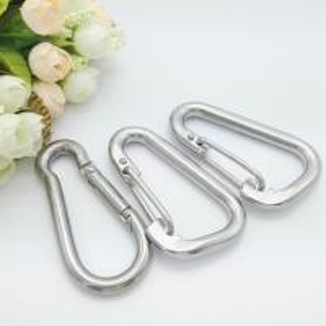China Multi Purpose Small Swivel Eye Snap Hook , Swivel Spring Snap Hook Stainless Steel on sale