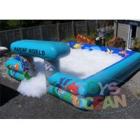 China Fashion Giant Inflatable Water Games Foam Party Pits 16 X 16 wholesale
