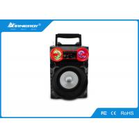 China Square Dance Outdoor LED Portable Speaker Wireless With USB AUX FM Radio wholesale