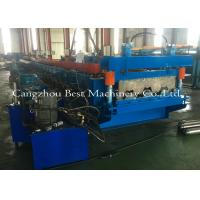 China 0.8-1.5mm Galvanized Metal Deck Sheet Roll Forming Machine For Roof Building wholesale