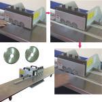 China Electrostatic PCB Depanelizer Multi - blades Cutting 1500mm Length wholesale