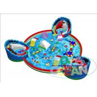 China 4 M Slide Ultimate Kids Inflatable Water Park For Childrens Park wholesale