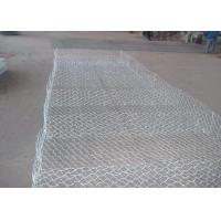 Buy cheap Double Twisted Heavy Zinc Coated Gabion Mattress / Gabion Wall Baskets from wholesalers