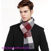 China Cashmere Men scarf, Square lattice scarves for man & boys with fashion European design wholesale