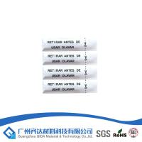 China Clothing Shop Security Anti Theft Label 58khz Am Eas Labels 45mm ± 0.2mm Length wholesale