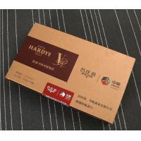 China manufacturers produce customized red wine boxes, professional supply MDF wine packaging boxes, hardcover trays wholesale