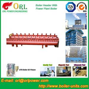 China Industrial Steam CFB Boiler Header / Low Loss Headers Low Pressure wholesale