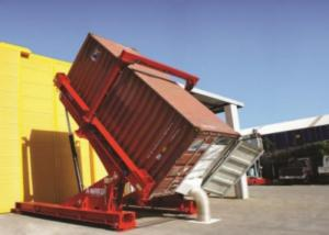 China Hydraulic SS304 40ft ISO Bulk Truck Unloading System wholesale