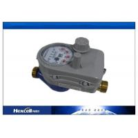 IC Card Prepaid Water Meter , Wireless Brass Body  Cold Water Meter