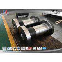 China Cylinder I Shaped Grove Stainless Steel Forging , Metal Forging Process Frame Package on sale