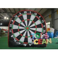 China PVC Inflatable Sport Games Mini Soccer Dart Board 2 X 2M For Advertisement wholesale